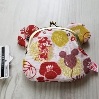 Disney - 東京ディズニー ミニーがま口財布 新品