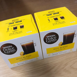 Nestle - 新品未開封 ネスカフェ ドルチェグスト リッチブレンド 16個✖️2箱 32個