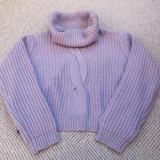 dazzlin - ダズリン パープル セーター