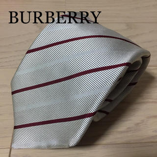 BURBERRY BLACK LABEL - BURBERRY BLACK LABEL バーバリー シルクネクタイ ②