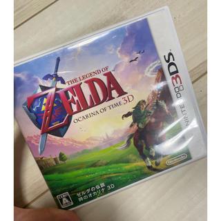 ニンテンドー3DS(ニンテンドー3DS)のゼルダの伝説 時のオカリナ 3DS(携帯用ゲームソフト)