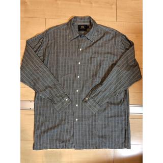 ダブルアールエル(RRL)の【連休限り】RRLダブルアールエル・黒タグチェックシャツ(シャツ)