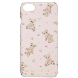 メゾンドフルール(Maison de FLEUR)の新品♡メゾンドフルール ベアiPhoneケース スマホケース モバイルケース(iPhoneケース)