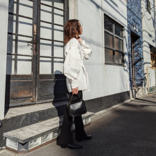 moussy - MOUSSY新作♡TUCK SLEEVE LONG シャツ♡ウエストタックシャツ