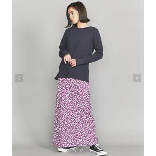 BEAUTY&YOUTH UNITED ARROWS - フラワープリントマキシスカート ビューティアンドユース