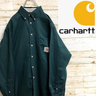 carhartt - *カーハート*長袖シャツ*ワークシャツ*Mサイズ*