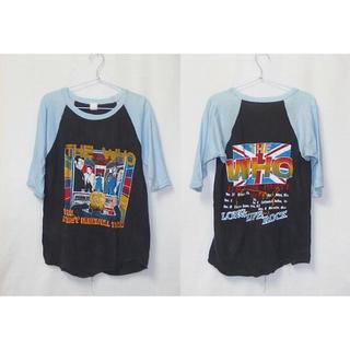 サンタモニカ(Santa Monica)の▪️80's【THE WHO】VINTAGE TEE(Tシャツ/カットソー(七分/長袖))