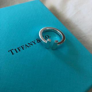 Tiffany & Co. - 日本未入荷!ティファニースクエアリング10号