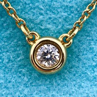 Tiffany & Co. - ティファニー  ダイヤモンド バイ ザ ヤード ネックレス  ローズゴールド