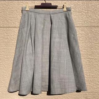 トゥモローランド(TOMORROWLAND)のTOMORROWLAND トゥモローランド スカート グレー 36(ひざ丈スカート)