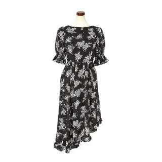 Herlipto♡Asymmetrical Floral Dress♡新品未使用