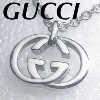 Gucci - 美品‼️GUCCI インターロッキングネックレス