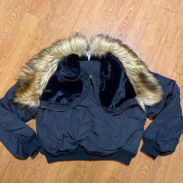 moussy(マウジー)の【美品】MOUSSY SHORT N2B ブラック レディースのジャケット/アウター(ブルゾン)の商品写真