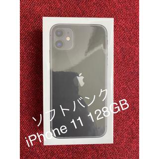 Apple - iPhone 11 128GB SoftBank [ブラック]