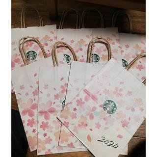 Starbucks Coffee - スターバックス さくら 2020 ショッパー 6枚 送料無料