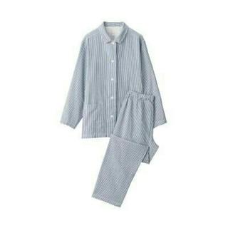 MUJI (無印良品) - 新品 無印良品  脇に縫い目のない二重ガーゼパジャマ