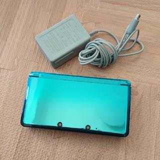 ニンテンドー3DS - ニンテンドー 3DS アクアブルー