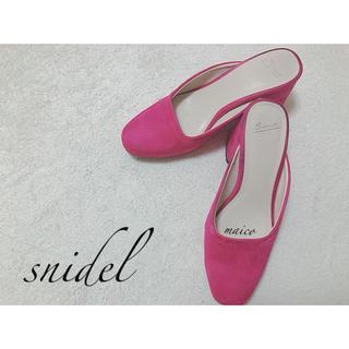 snidel - snidel☆レディライクローヒールパンプス