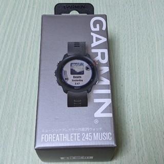 GARMIN - GARMIN ForeAthlete 245 music ガーミン245