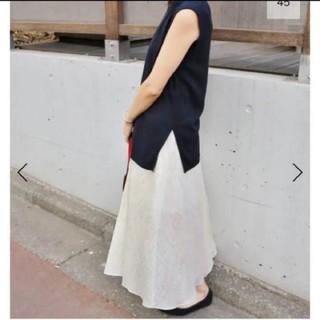 IENA - 【新品】【タグ付き】IENA シアーランダムフレアスカート◆
