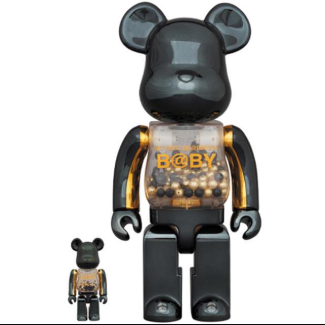 MEDICOM TOY(メディコムトイ)のMY FIRST BE@RBRICK BLACK & GOLD  エンタメ/ホビーのフィギュア(その他)の商品写真