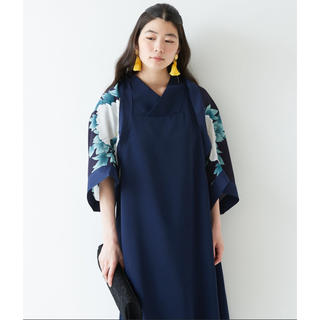 ふりふ - ふりふ kimono スリーブショール ボレロ