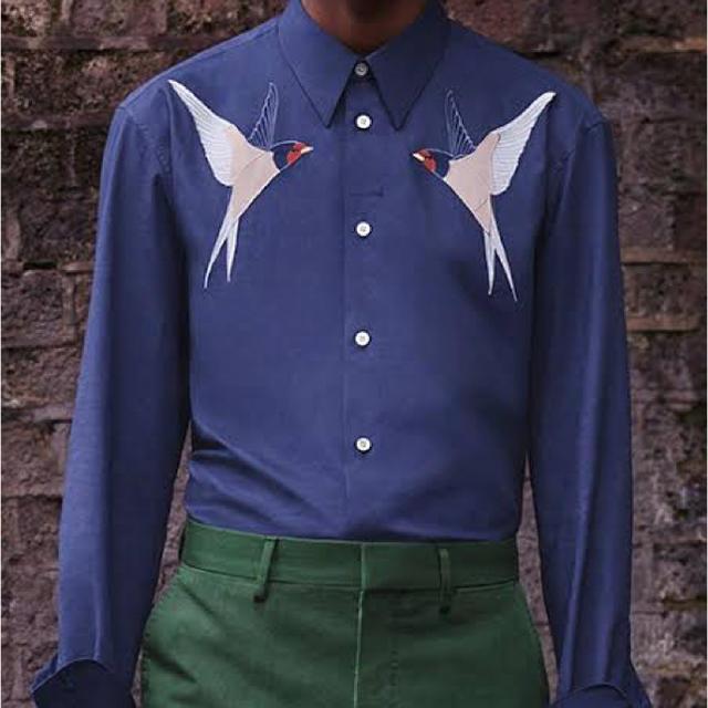 Stella McCartney(ステラマッカートニー)のstella mccartney 17ss 燕シャツ メンズのトップス(シャツ)の商品写真