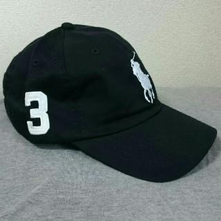 POLO RALPH LAUREN - 新品タグ付き ポロ・ラルフローレン 帽子 ブラック/ホワイトビックポニー 高品質