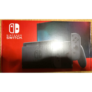 極美品 任天堂 Switch スイッチ 新型 グレー 中古 新モデル