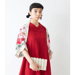 ふりふ - タグ付き新品 ふりふ kimono スリーブショール ボレロ