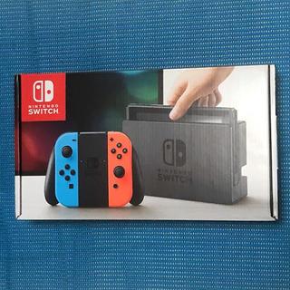 Nintendo Switch - 任天堂 Switch 本体 ネオン 中古