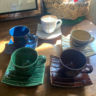 コーヒーカップ 5客セット♡