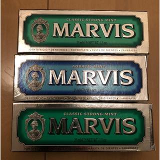 マービス(MARVIS)のMARVIS 歯磨き粉 三本セット(歯磨き粉)