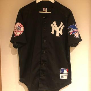 Majestic - Majestic Yankees baseball シャツ M