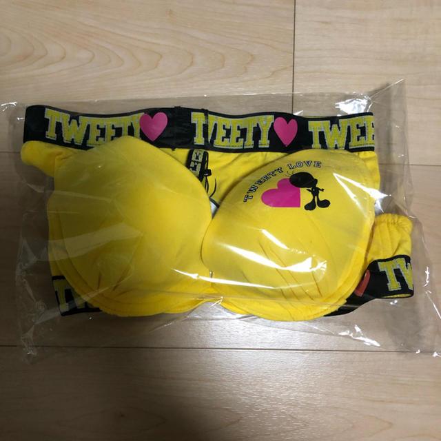 aimer feel(エメフィール)のトゥイーティー aimerfeel ブラショーツセット レディースの下着/アンダーウェア(ブラ&ショーツセット)の商品写真