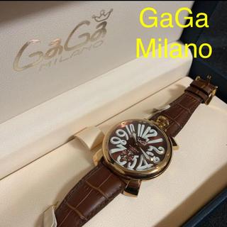 ガガミラノ(GaGa MILANO)のGaGaMILANO MANUALE  ガガミラノ マニュアーレ 48MM(腕時計(アナログ))