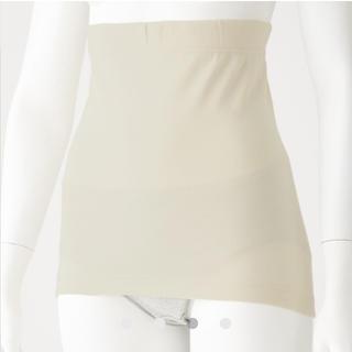 MUJI (無印良品) - ★今期新品 無印良品 オーガニックコットン100% 腹巻き 生成 オフホワイト