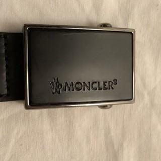 MONCLER - moncler レザーベルト