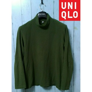 UNIQLO - ★UNIQLOヒートテックストレッチフリースモックネック M サイズ
