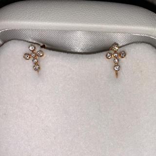 STAR JEWELRY - スタージュエリー  イヤリング 18k ダイヤモンド ダイアモンドピアス 18金