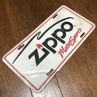 ZIPPO Motor Sports ブリキ看板