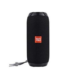 【新品】T&G 防水Bluetoothスピーカー 黒 高音質 野外 アウトドア
