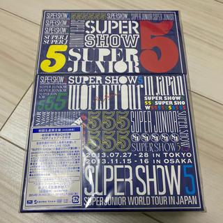 SUPER JUNIOR - SUPER JUNIOR WORLD TOUR SUPER SHOW5 in J