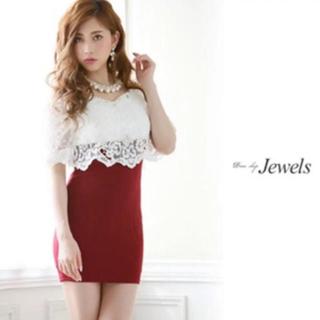 ジュエルズ(JEWELS)のキャバ  ミニドレス ドレス ワンピ 袖付 ジュエルズ DIOH(ミディアムドレス)