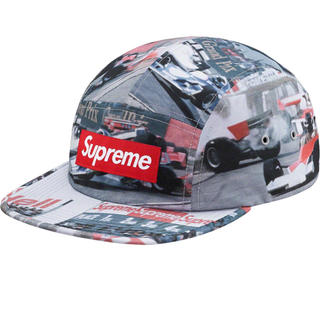 Supreme - supreme Grand Prix Camp Cap  新品未使用