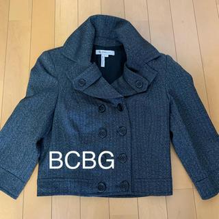 ビーシービージーマックスアズリア(BCBGMAXAZRIA)のBCBG ショートジャケット サイズ2(ブルゾン)