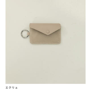 TODAYFUL - トゥデイフル   Leather x Mesh Coincase
