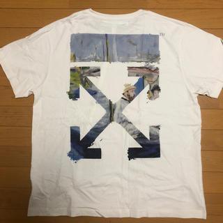 OFF-WHITE - 格安確実正規美品OFF white オフホワイト アローTシャツ サイズM