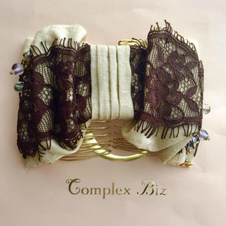 Complex Biz - 美品 complex biz コンプレックスビズ リボンイージーコーム