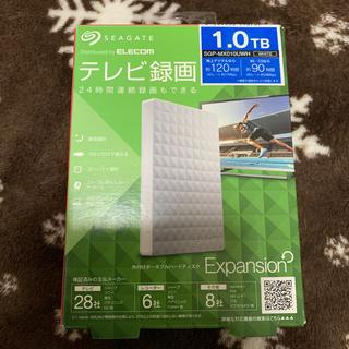 エレコム(ELECOM)のハードディスク HDD 1.0TB ELECOM SGP-MX010UWH(PCパーツ)
